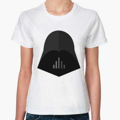 Классическая футболка Дарт Вейдер - Минимализм
