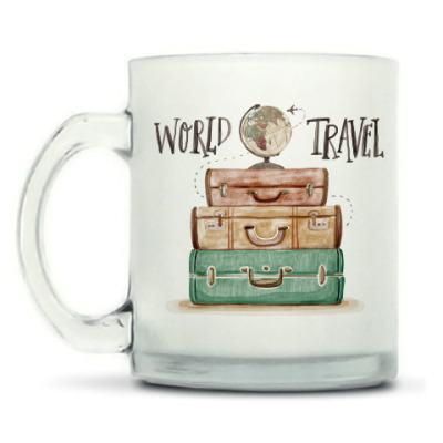Кружка матовая Для путешественника