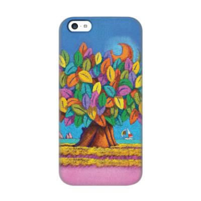 Чехол для iPhone 5c Дерево Счастья