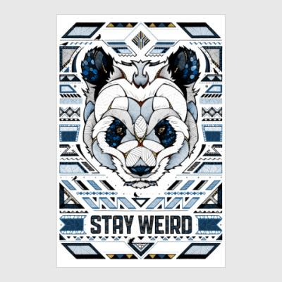 Постер Stay weird