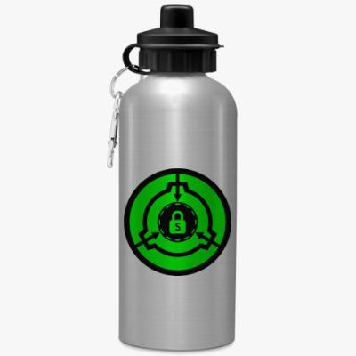 Спортивная бутылка/фляжка SCP Безопасный
