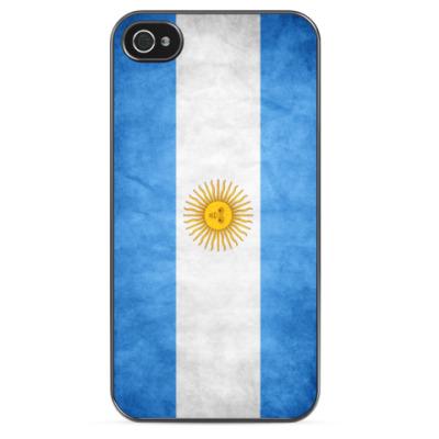 Чехол для iPhone Флаг Аргентины