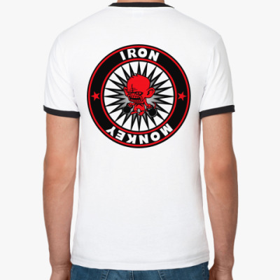 Футболка Ringer-T Iron Monkey