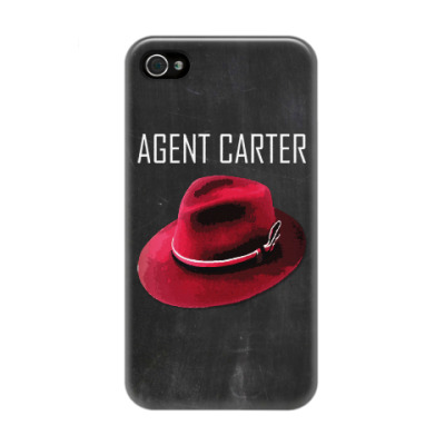 Чехол для iPhone 4/4s Agent Carter