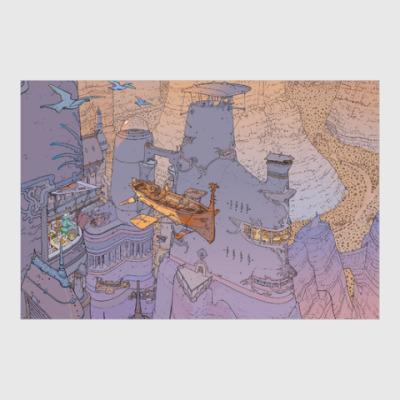 Постер Moebius airship