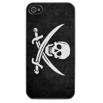 Чехол для iPhone Пиратский Флаг