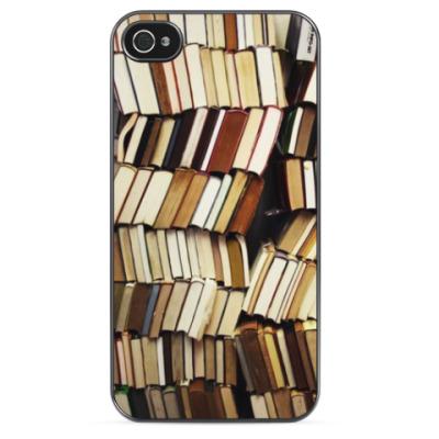 Чехол для iPhone Полка с книгами