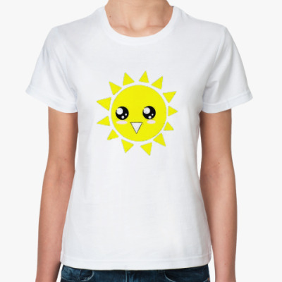 Классическая футболка футболка ж Sun