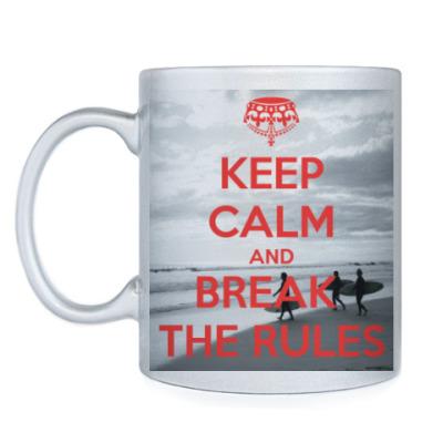 Кружка Break the rules