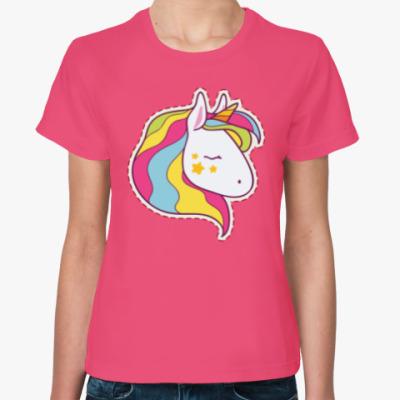 Женская футболка Unicorn