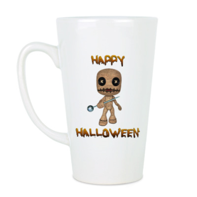 Чашка Латте Хеллоуин