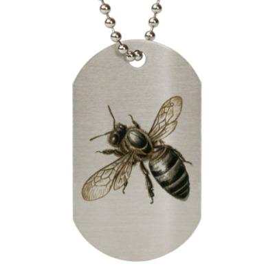 Жетон dog-tag Ужасающая пчела