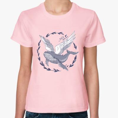 Женская футболка Лис