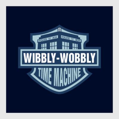 Постер Wibbly-Wobbly - Time Machine