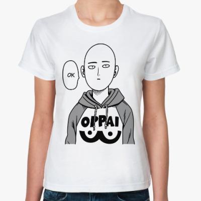 Классическая футболка One Punch Man