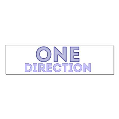 Наклейка (стикер) One Direction