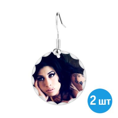 Серьги 'Amy Winehouse'
