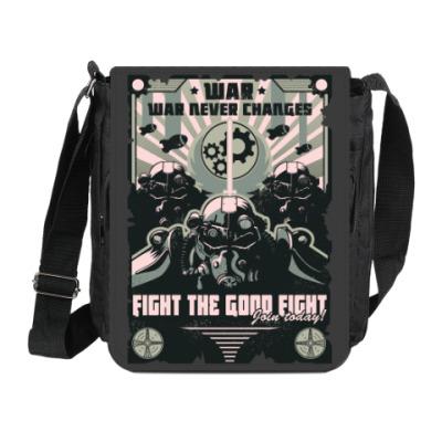 Сумка на плечо (мини-планшет) Fallout Фоллаут