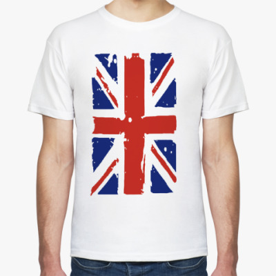 Футболка Британский флаг / British flag