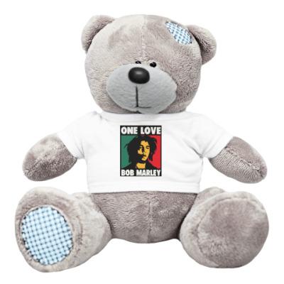 Плюшевый мишка Тедди Боб Марли