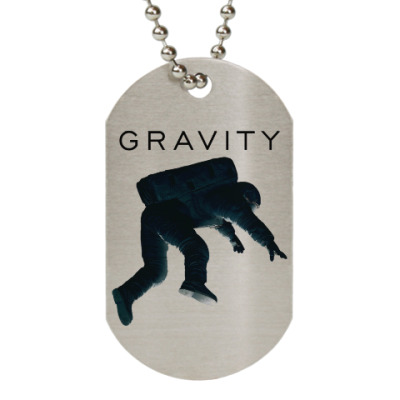 Жетон dog-tag Gravity