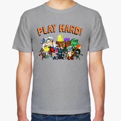 Футболка Play Hard!
