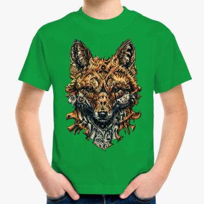 Детская футболка Mechanical Fox