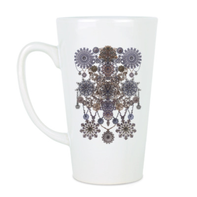 Чашка Латте Ажурный узор-монисто