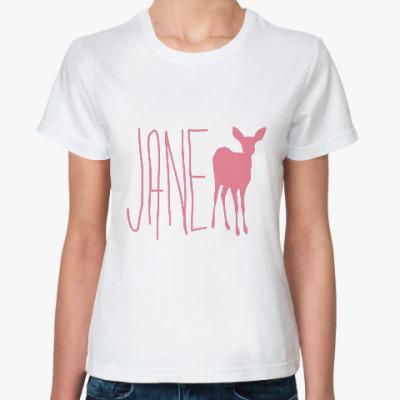 Классическая футболка Life is strange - JANE DOE