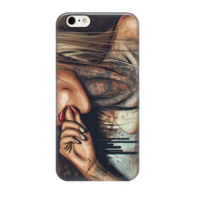 Чехол для iPhone 6/6s девушка