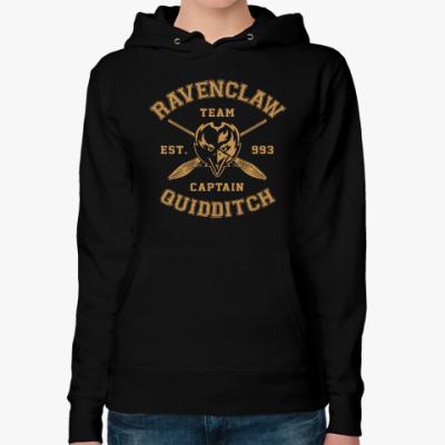 Женская толстовка худи Ravenclaw Quidditch Team