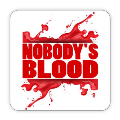 Костер (подставка под кружку) Nobody's Blood