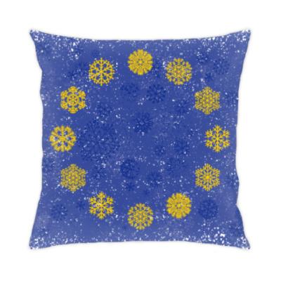 Подушка Флаг Евросоюза