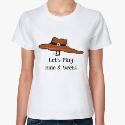 Классическая футболка 'Прятки'