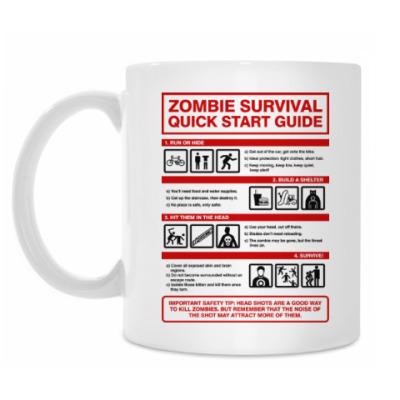 Кружка Зомби апокалипсис. Инструкция