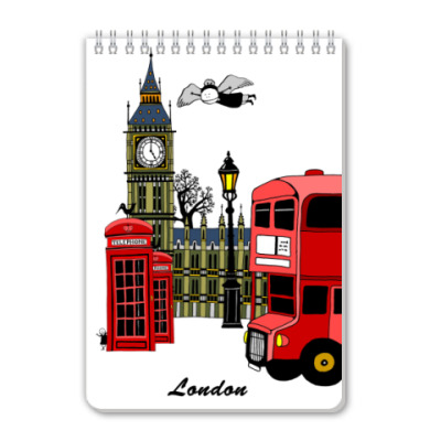 Блокнот 'Лондон'