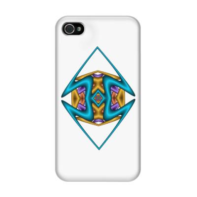 Чехол для iPhone 4/4s Ромб