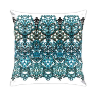 Подушка Ажур,кружево,узор,arabesque,мавританский