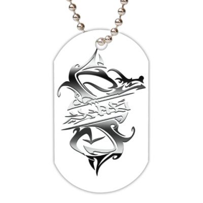 Жетон dog-tag SHA-B FLAVA