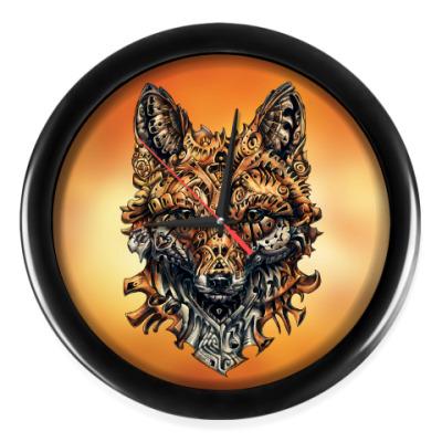 Настенные часы Mechanical Fox