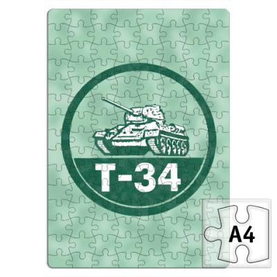 Пазл Танк Т-34
