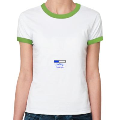 Женская футболка Ringer-T  Загрузка