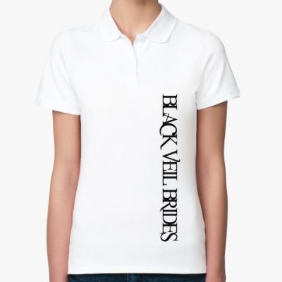 Женская рубашка поло Black Veil Brides