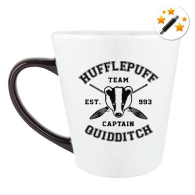 Кружка-хамелеон Hufflepuff Quidditch