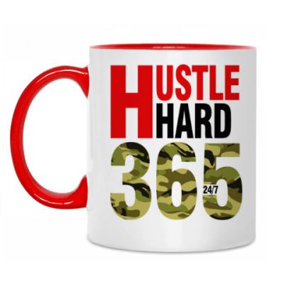 Кружка Hustle HARD 365