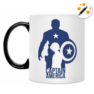 Кружка-хамелеон Captain America