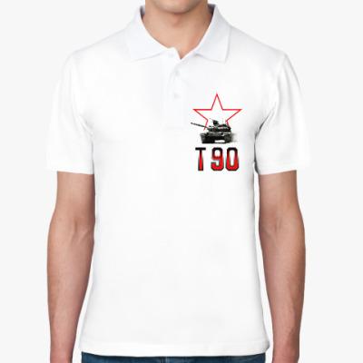 Рубашка поло Танк Т-90