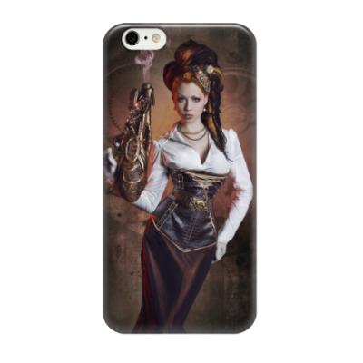 Чехол для iPhone 6/6s Steampunk Lady