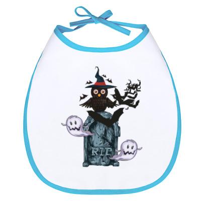 Слюнявчик Хэллоуин 31 октября