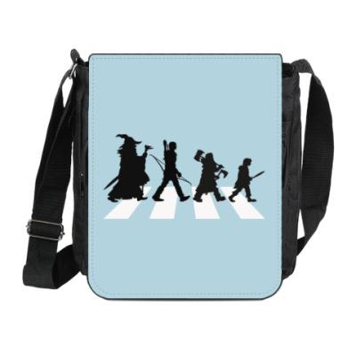 Сумка на плечо (мини-планшет) Властелин Колец - Abbey Road